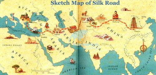 silk road essays The silk road began in eastern asia around 200 b c e from there, it expanded and flourished over the next few centuries until it became outdated and fell to trade.